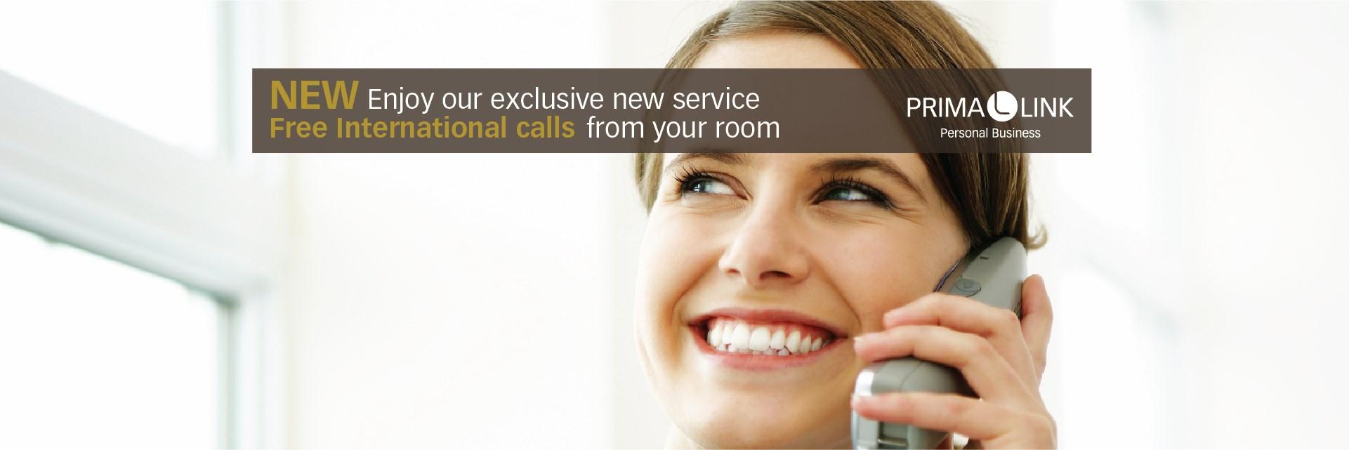 Free International Calls Prima Link