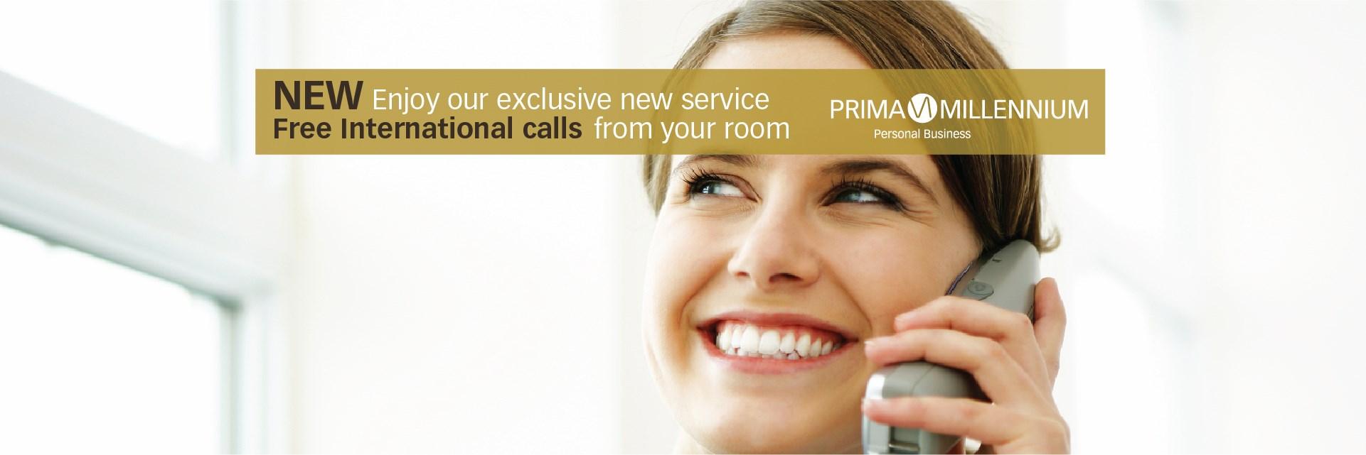 Free International Calls Prima Millennium