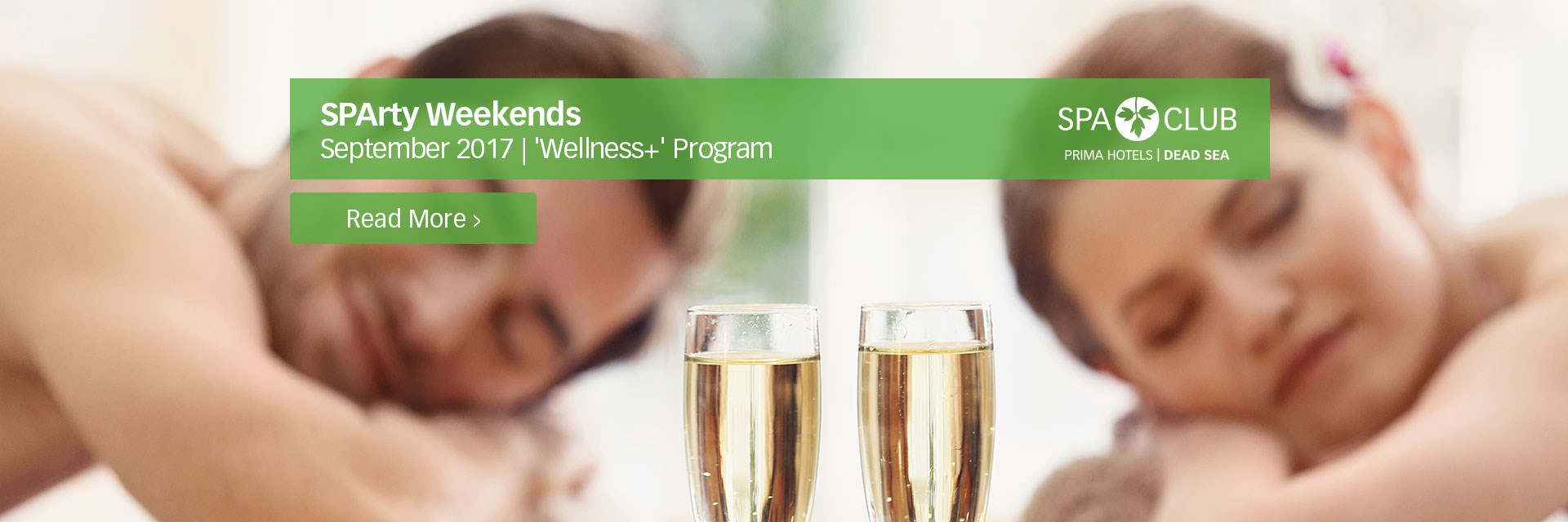 Wellness+ September - SPArty Weekends