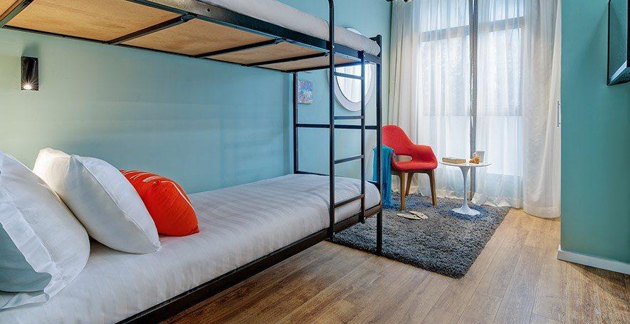 Hotel75 Bunk bed