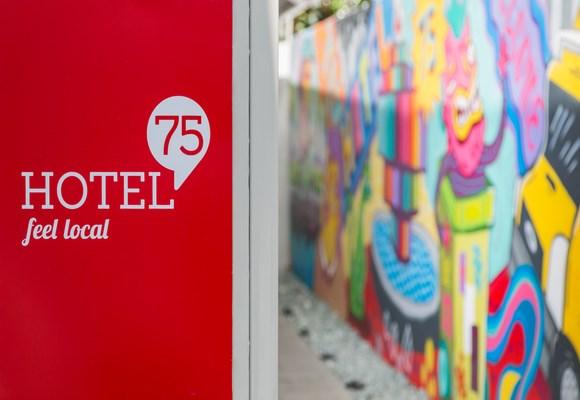 Hotel 75 Entrance