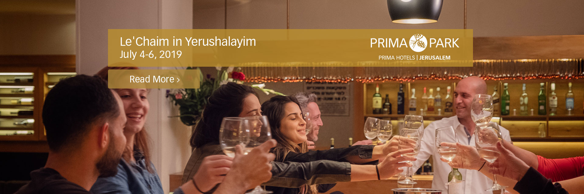 LeChaim in Yerushalayim Weekend